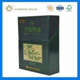 Rectángulo de empaquetado rígido de lujo del aceite de oliva