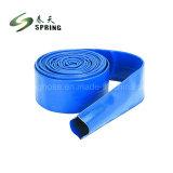 Heavy Duty Layflat PVC Tube de Décharge de l'irrigation pour l'Agriculture