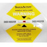 Удар снабжения Shockaction 75g и предупреждающие ярлыки вибрации для автозапчастей