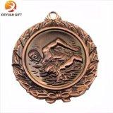 Le métal d'or a personnalisé des médailles de base-ball fabriquées en Chine (XYmxl81804)