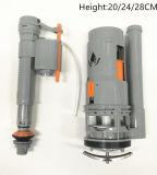 Guarnición del tanque del tocador de válvulas enrasadas