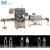 Planta de producción de botellas de agua completo