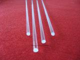 Claro Cristal de cuarzo de alta temperatura de varilla de vidrio