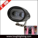 """10-80V 3 """" indicatore luminoso di sicurezza rosso del carrello elevatore di Sicuro-Velocità di zona di 10W LED"""