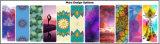 Kundenspezifisches Bild und Firmenzeichen gedruckte Naturkautschuk Microfiber Veloursleder-Yoga-Matte
