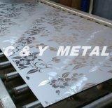 L'épissure de l'élévateur en acier inoxydable avec indicateur de position de la surface de feuille