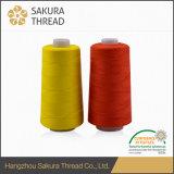 Couches de 40/2 fournisseur de la Chine cousant l'amorçage de polyester avec le certificat Oeko-Tex