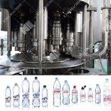 Aqua totalmente automática máquina de llenado de botellas de plástico de agua