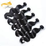 Extensões rápidas do cabelo humano da onda do preço de grosso da fábrica da entrega