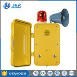 IP67 weerbestendige Telefoon, de Industriële Telefoon van de Noodsituatie Analog/SIP met de Knopen van de Wijzerplaat van de Snelheid