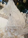 Aoliweiya arabisches Champagne Ballkleid-Hochzeits-Kleid