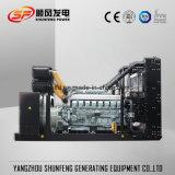Generatore diesel di potere insonorizzato di 1100kw Mitsubishi Electric con il contenitore silenzioso