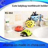 De creatieve Houder van de Tandenborstel van het Lieveheersbeestje van het Beeldverhaal van het Type van Muur van de Zuiging van de Uitloper Leuke (rs-002)