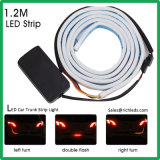 2 colori Iceblue & indicatore luminoso dinamico degli indicatori luminosi LED DRL di /Tail dell'indicatore luminoso di girata dei lampeggiatori LED della striscia del circuito di collegamento di automobile di colore rosso/LED
