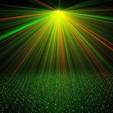 DJ Laserlicht für Weihnachtsdisco-Partei-Beleuchtung mit Fernsteuerungs