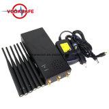2018 portátiles de alta potencia Jammer bandas 6Fullband bloqueador/GPS/Glonass/Galileol1-L5 Dispositivo de seguimiento/Lojack/WIFI/Bluetooth