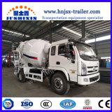 3-6CBM LHD ou Rhd petit camion bétonnière/camion mélangeur Mixer-Cement Self-Loading béton