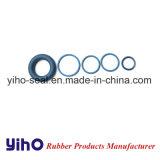 Синий резиновое уплотнительное кольцо и силиконовый чехол черного цвета с уплотнительными кольцами