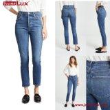 Jeans scarni 2018 del denim di vendita della fabbrica delle donne calde di stirata Jl-Sk064