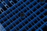 Doble reversible frente palets de plástico de alta calidad para almacén de apilamiento de múltiples