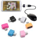 precio de fábrica de Venta caliente Micro USB a USB OTG Mini Adaptador para smartphone Android