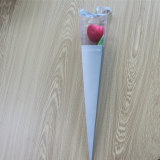 El alto grado de una sola flor Paquete Personalizado Rosa Caja de regalo