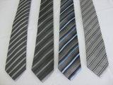 Moda Masculina Colur sólido de gravatas de microfibras