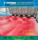 Structure de bambou de résine synthétique Ligne de production de feuilles de toit