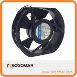 172x150x51mm 230V AC ventilador axial do painel com rolamento de esferas para ventilação de refrigeração