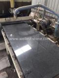 Diamond черного гранита плитка для пола и стены открыло плиткой полированным покрытием, место на кухонном столе