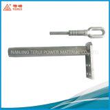 Alliage d'aluminium le collier à tension de compression hydraulique de soudage