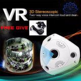 360 Camera van het Toezicht van het Oog van de Vissen van de Driehoek van de graad de Grote Draadloze Panoramische