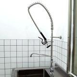 Conception spéciale du Centre de l'unité de rinçage en laiton pré robinet évier de cuisine du Restaurant cuisine commerciale
