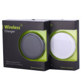 Almohadilla de carga de Qi de mejor venta /Celular Mini Q5 cargador inalámbrico para el iPhone 7/ 7plus/ 4/ 5/ 5 /6