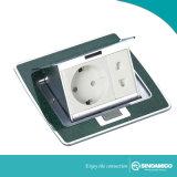 Le connecteur électrique du boîtier de plancher de jonction de puissance