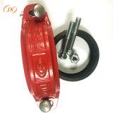 "4"" ranurado de hierro dúctil de montaje del tubo de acoplamiento flexible"