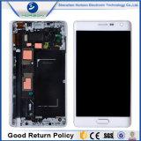 Teléfono móvil con pantalla LCD Marco para el borde de la nota 4 Samsung N915
