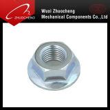 A2 A4 de soutenir l'acier verrouillé en Nylon de l'écrou à embase hexagonale de
