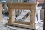 Camino di marmo beige crema dell'Egitto per la decorazione dell'interno Sy-302