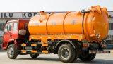 Sinotruk 4X2トラック10000リットルの吸引の下水道の清掃動物の真空の