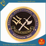 習慣OEMは機密保護のためのダイカストの記念品賞の硬貨を