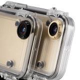 極度なスポーツのiPhone 6/6sのための広角の170度の防水セルまたは携帯電話のケース