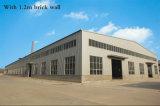 Almacén de prefabricados de estructura de acero con revestimiento aislante (KXD-SSW5).