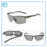 Tac Alumínio polarizada andar polarizado óculos de sol de desporto para homens