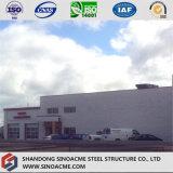 Construction commerciale de structure métallique pour le bureau