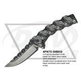 "4.8"" Primavera cerrado Assistant Fantasy cuchillo con hoja de espejo (4PN75-50MF)."