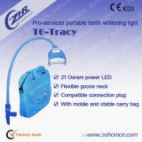 Portátil de luz LED T6 Máquina de Blanqueamiento Dental