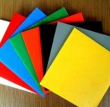 4x8 pies PP láminas de plástico corrugado