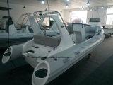 Liya 17FT 20FT China Rippen-aufblasbarer Boots-Geschwindigkeits-Boots-Verkauf