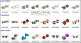 VAGULA 커프스 단추 디자이너 커프스 단추 (Hlk31607)